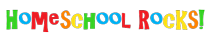 Homeschool Rocks! logo